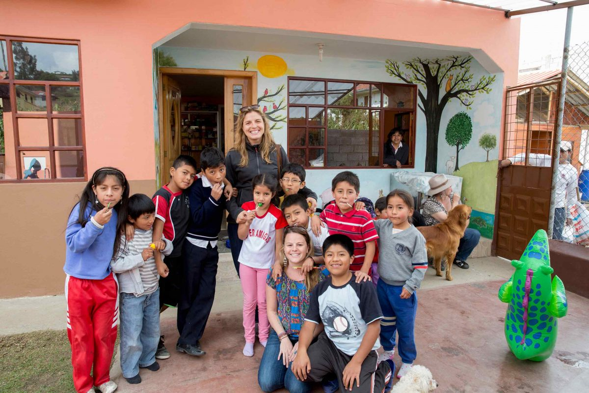 Volunteer in Ecuador