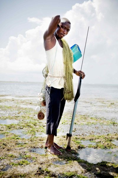 One of the fisherman I met in Kenya.