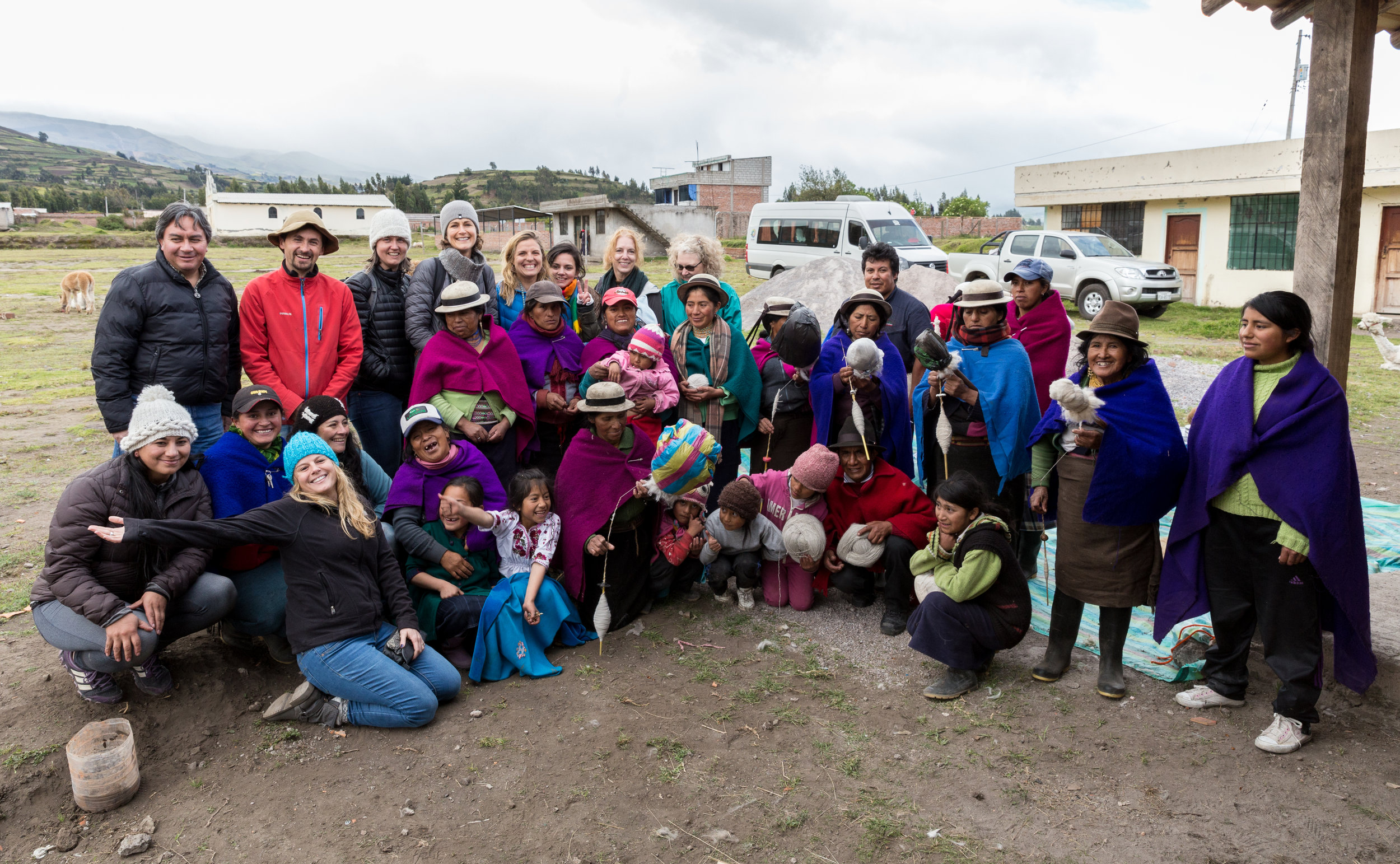 Connecting with rural communities in Ecuador