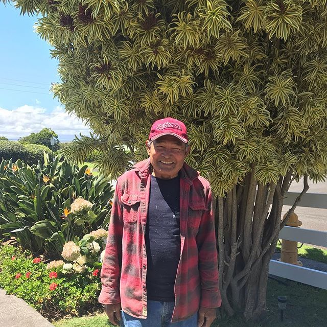 On this beautiful Wednesday morning, we'd like to thank Marcelino, the man behind our beautiful landscaping! His family started caring for Anna Ranch grounds back in the 1980's. We are so grateful for all of his hard work and skill to keep the ranch as breathtaking as it is.  #annaranch #landscaping #mahalo #greenthumb  #manbehindthemower #luckywelivehawaii🌺 #wonderfulwednesday