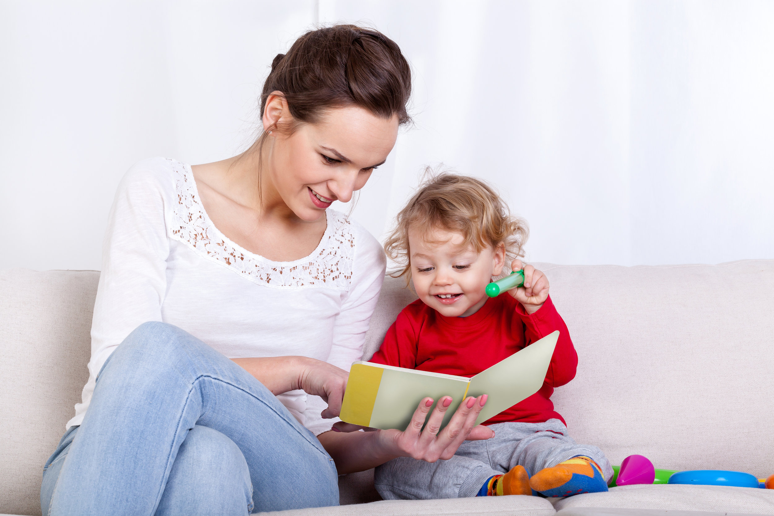 Encourage your child to talk