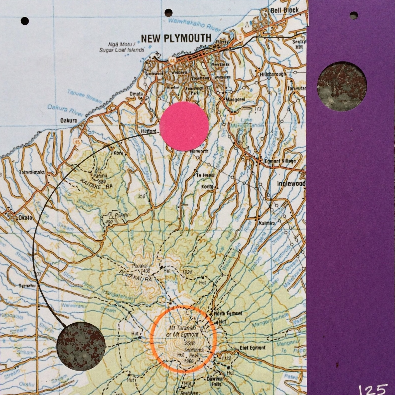 Card Detail, New Plymouth, New Zealand, 2015