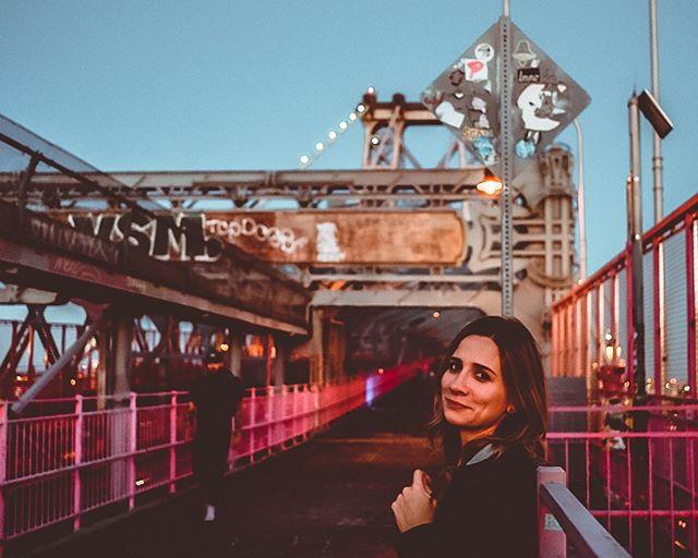 The Williamsburg Bridge and I have the same favorite color. . 📸 by @sampepperphoto . . . . #cityguide #chasinglight #morningslikethese #thehappynow #exploremore #momentslikethese #pursuepretty #thatsdarling #darlingweekend #justgoshoot #finditliveit #livefolk #folklife #livethelittlethings #seekthesimplicity #creativityfound #verilymoment#byfolk #flashesofdelight #finditliveit #liveauthentic #liveunscripted #livelittlethings #lifeandthyme #neverstopexploring #thehappynow#petitejoys #thisismycommunity #verilymoment #brooklyn