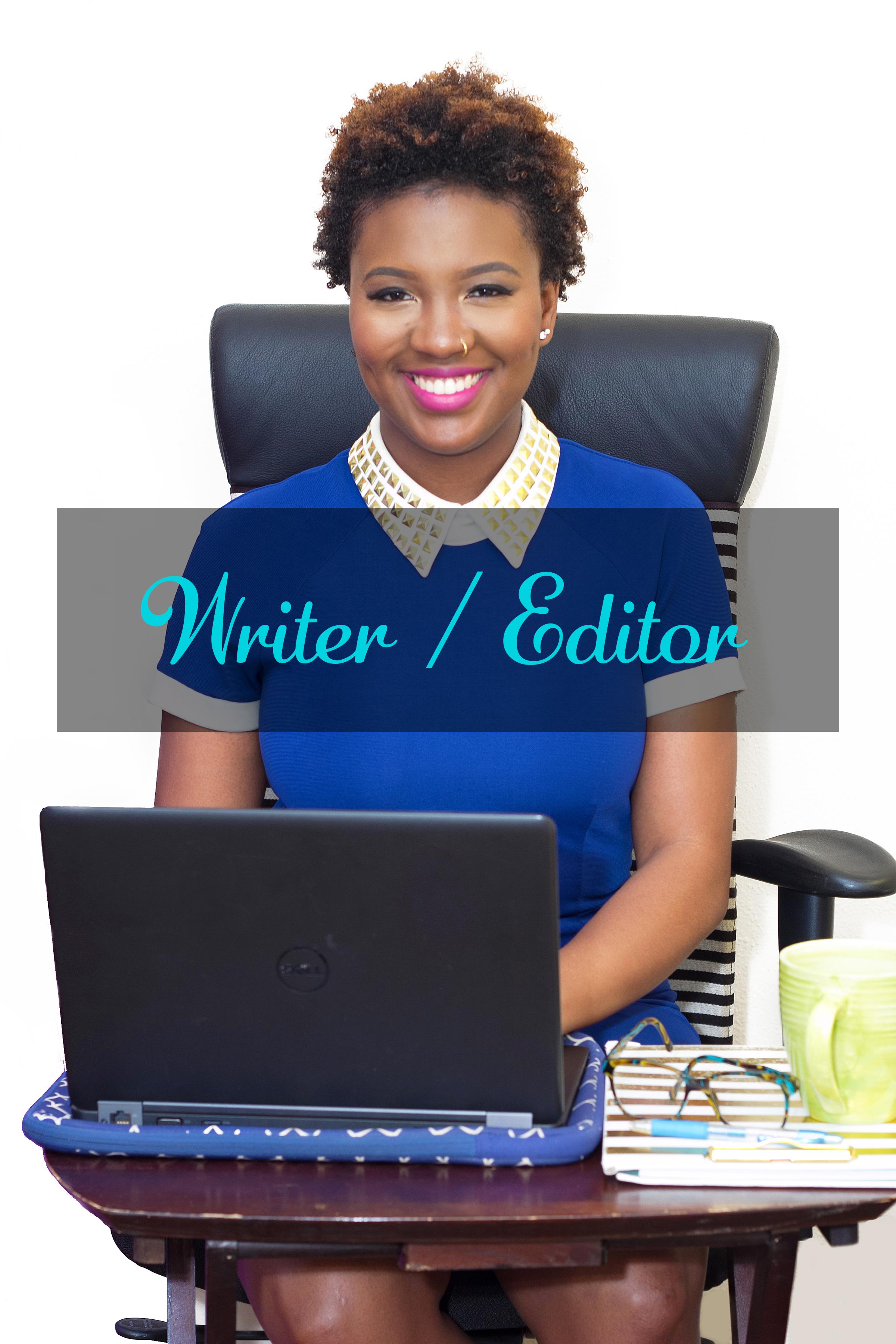 wRITER/ EDITOR