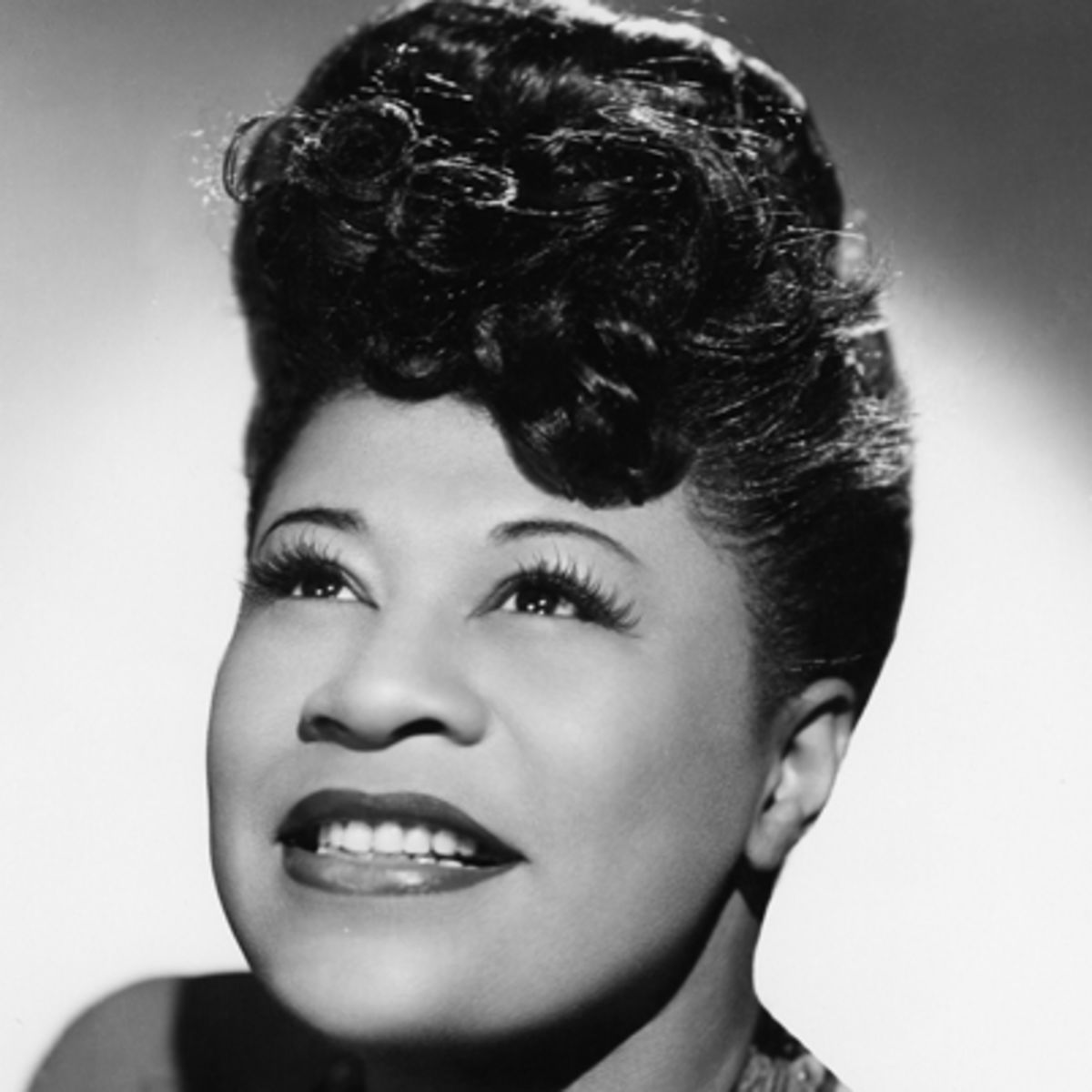Ella Fitzgerald - Jazz Singer often referred to as the first lady of song.
