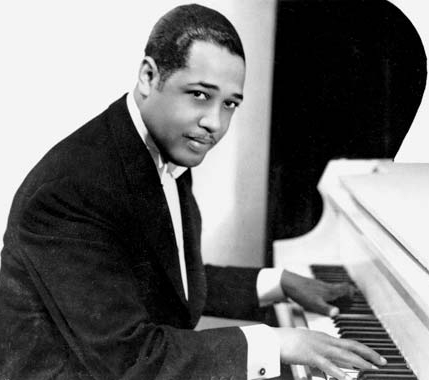 Duke Ellington - Pianist, composer and leader of a jazz orchestra.