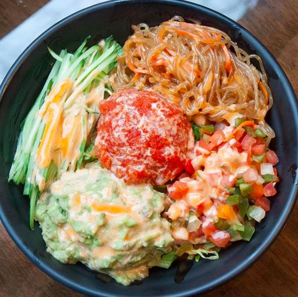 Spicy Tuna Ricebowl