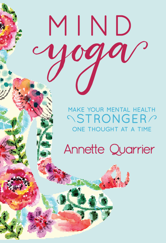 - Mind Yoga is a term I coined when I decided to host a podcast which helps people realize the power they give away when they let their thoughts get the best of them. In my Podcast I encourage listeners to stretch their minds and think about the quote as they go about their week. This book is a compilation of the quotes and topics from the first year of my podcast with additional insight and mind stretching exercises. Physical exercise is common in our society, yet we rarely spend time improving our mental health. By learning that the power to our happiness starts with each thought we think, we can begin to have more peace in our lives.If you would like to pre-order my book, please click the link below: