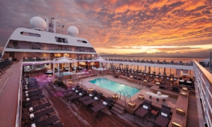 VIRTUOSO VOYAGES Enjoy a welcome-aboard cocktail reception, dedicated onboard hosts, and complimentary shipboard credits!      CLICK FOR PARTICIPATING CRUISES