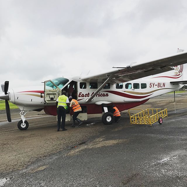 Off to the Masi Mara but first need to wait for the president of Kenya to take off! #waityourturn #safari #outofafrica
