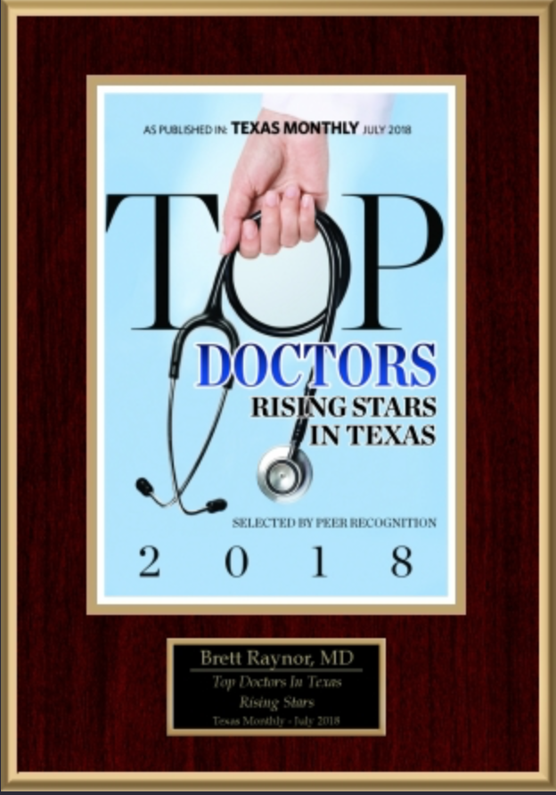 Texas Top Doctor Rising Star 2018