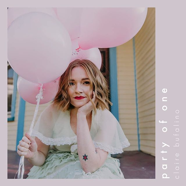 """My debut album """"Party of One"""" is available everywhere now!! Holy moly, I worked so hard on this thing, and I love it so much, and I really hope you like it ❤️ . . . . . There are about a thousand people I need to thank for helping me realize this dream. @jasonwyattmusic, @elliottdidur, and @benjamincphillips for capturing my soul. @emmadelevante and @keeleigh_pitchford for bringing it to life. Many amazing friends and family for supporting me and being oh so patient with me. Today is a very happy day."""