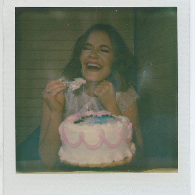 """I'm overwhelmed by the reaction to """"Party of One"""" and all of the amazing feedback I've received! And I am so excited to announce that all the proceeds from the album will officially be going to my law school education!! So help this smiley girl become a lawyer, and download """"Party of One"""" now! ❤️"""