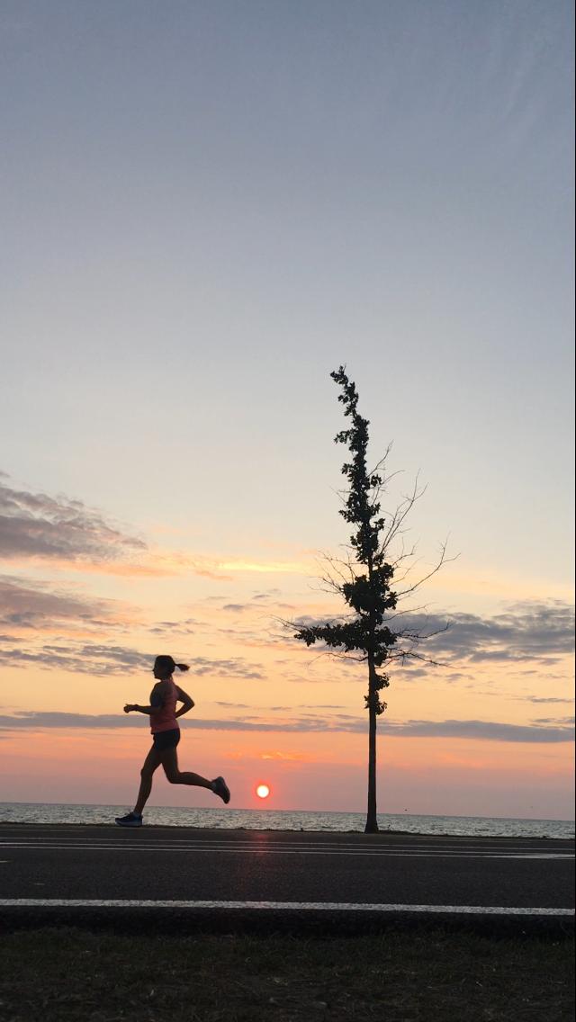 Sunrise reward for pre-dawn start