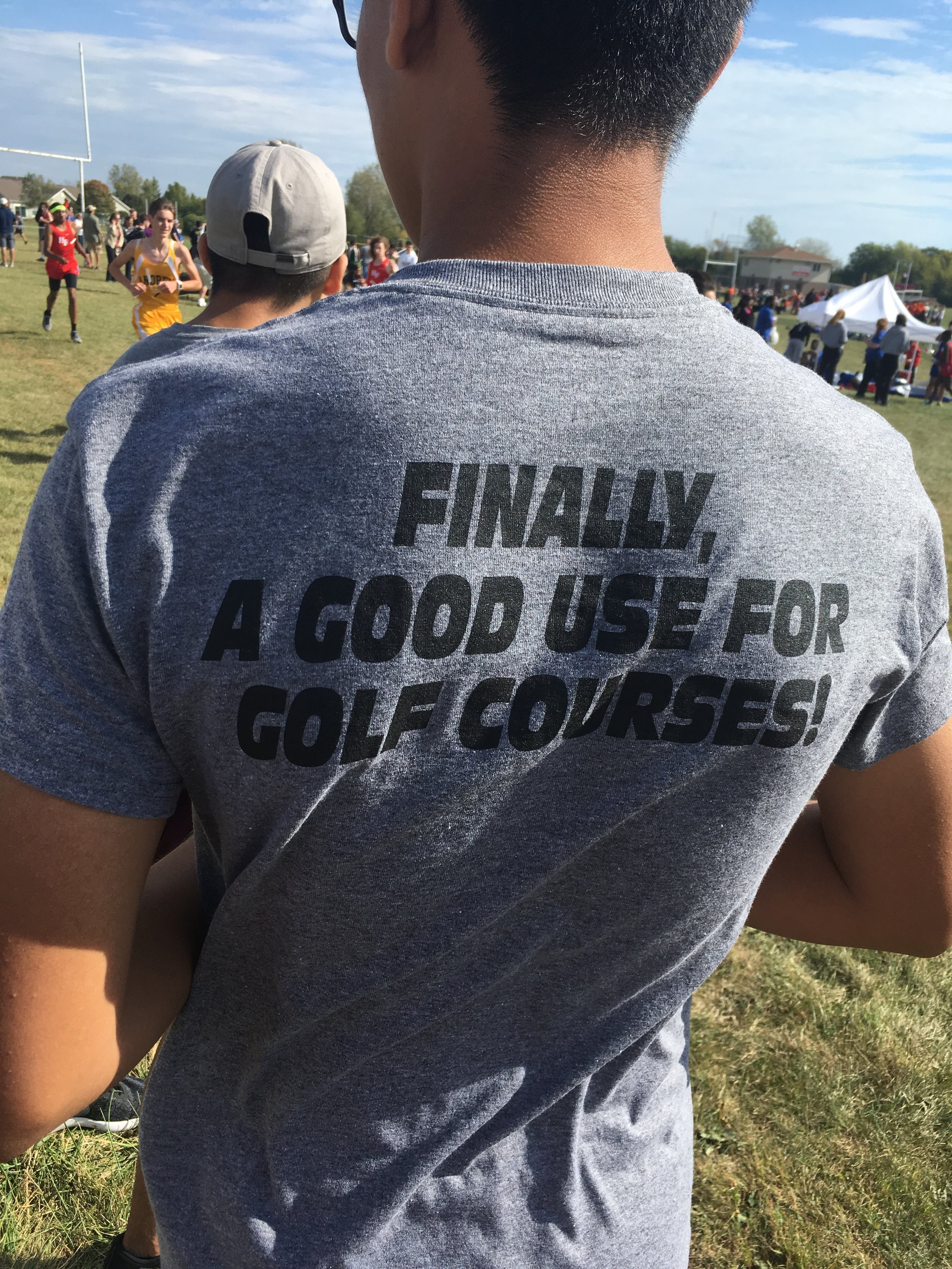 Seen at XC meet.  I approve this message