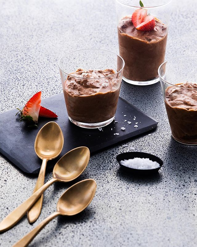 Chocolate mousse, anyone? Loved testing with @nicopisarro a couple of weeks ago!