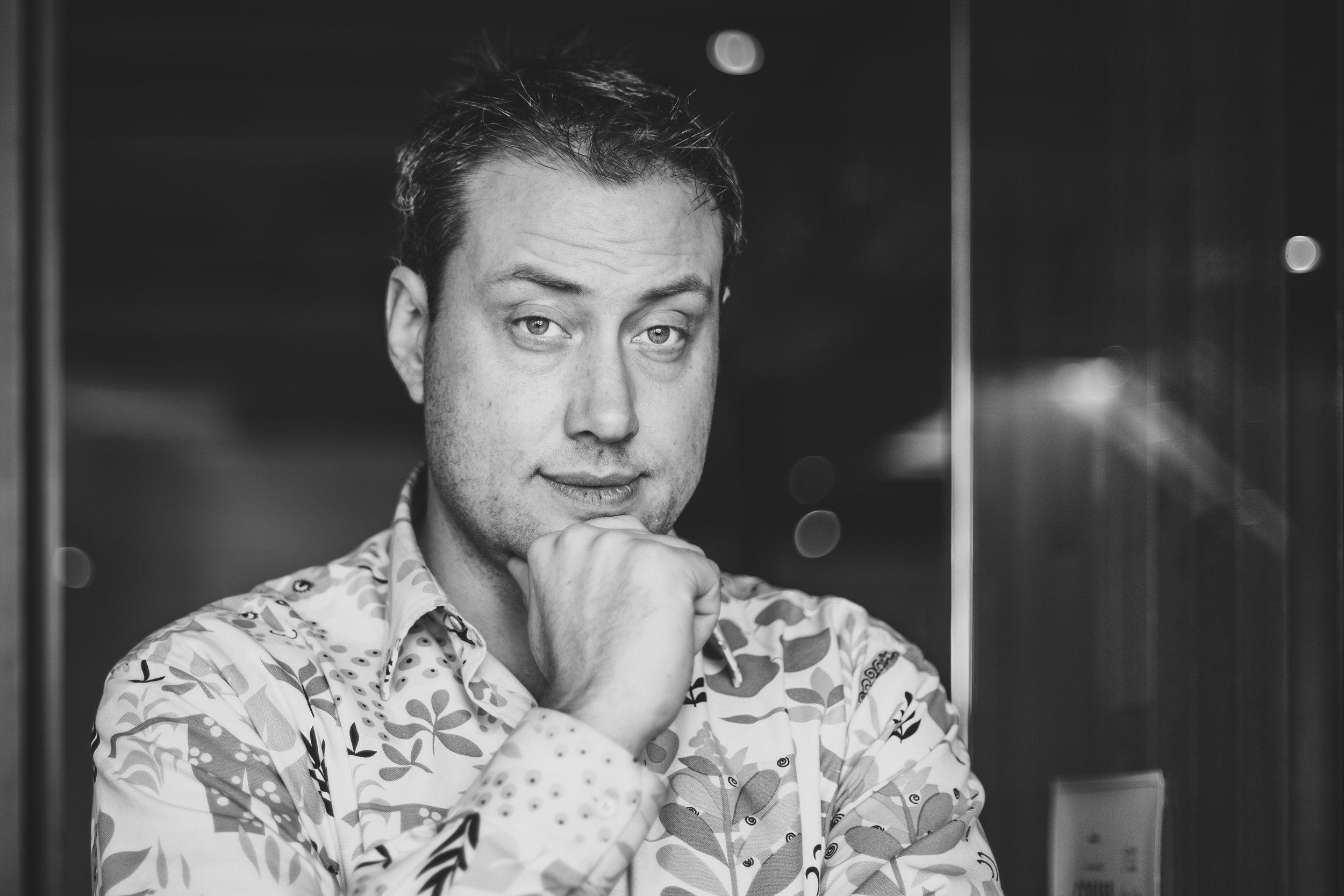 Five Questions - Andrew McGregor