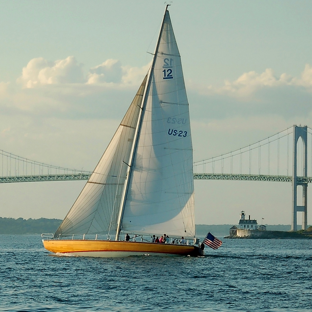 Escape Guide: Newport, Rhode Island - THE FLAGSHIP:The sailing capital of the world, Newport has long been home to old salts and (fittingly) stiff drinks.(27 June 2017 )