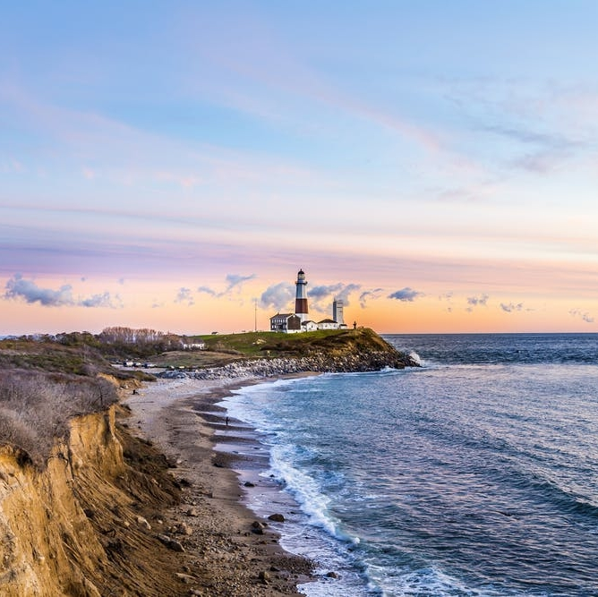 Weekends in Montauk: Your Ultimate Guide to the End of the World - BRIT + CO: Once a sleepy fisherman's village, Montauk has been transformed in recent years to the party capital of the Hamptons.(20 August 2018)