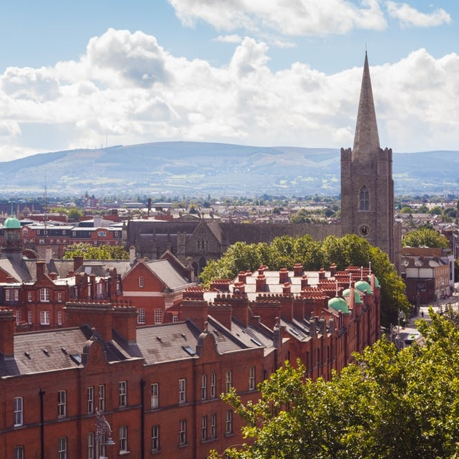 How to Experience the Luck of the Irish in Dublin - BRIT+ CO: The Irish are lucky for many reasons, though the Republic of Ireland's lively and enchanting capital city is undoubtedly a prime example of their good fortune.(3 October 2018)