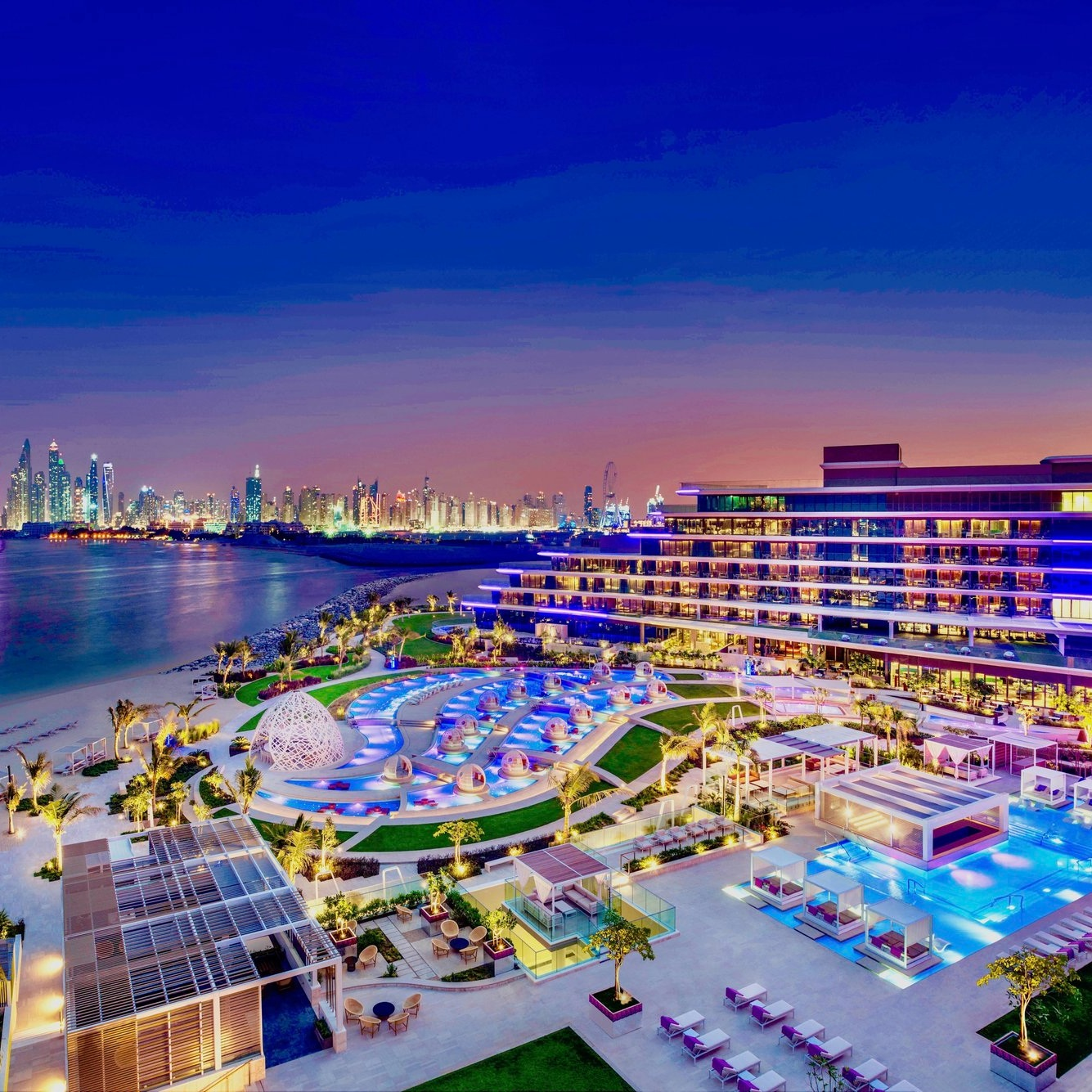 Designs On Dubai: The W Brand Arrives In The Party Capital Of The Middle East - FORBES: The desert just got hotter. The Arabian desert, to be exact—spurred by the arrival of the latest haute hotel chain to make a splash in Dubai, also known as the nightlife authority in the Middle East; a land where Chanel is advertised on highway billboards and you can swim with sharks in the mall.(1 July 2019)