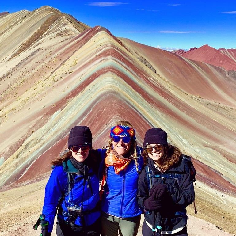 rainbow mountain -