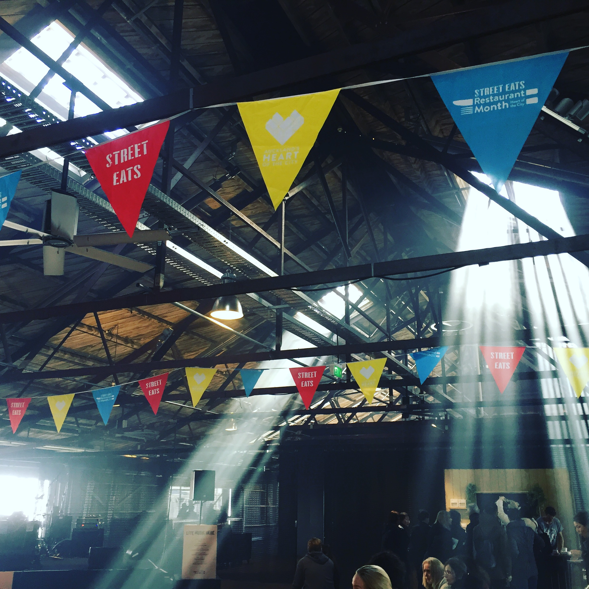 Street Eats at Shed 10, Queens Wharf