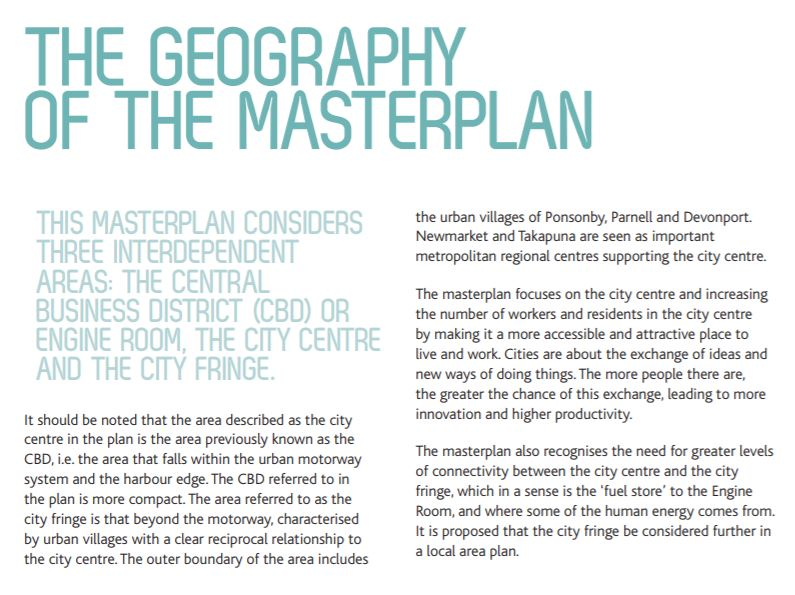 Why 'City Centre' , not 'CBD'?