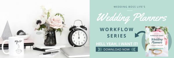 Wedding Planner Workflow