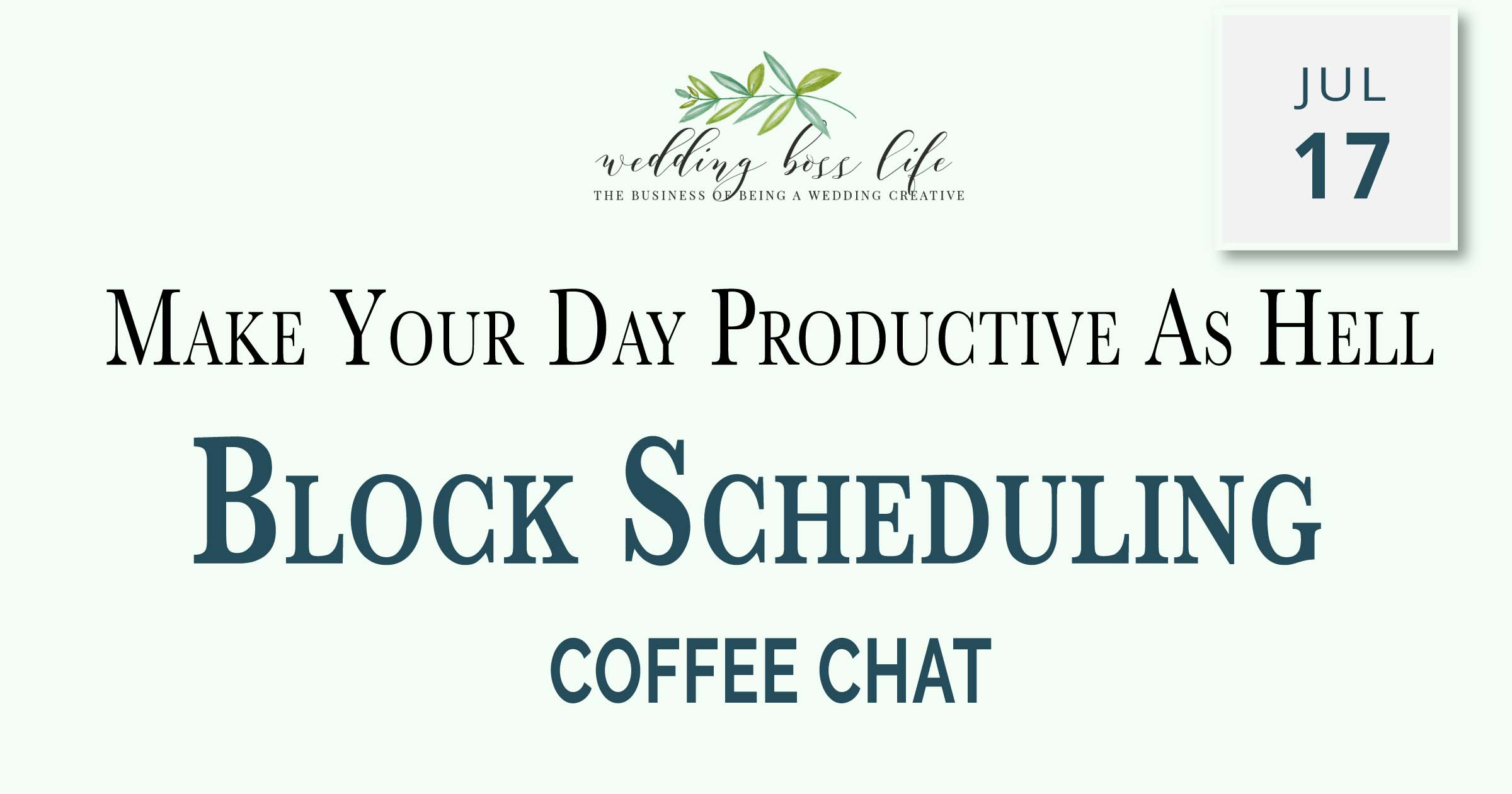 Make Your Day Productive as Hell