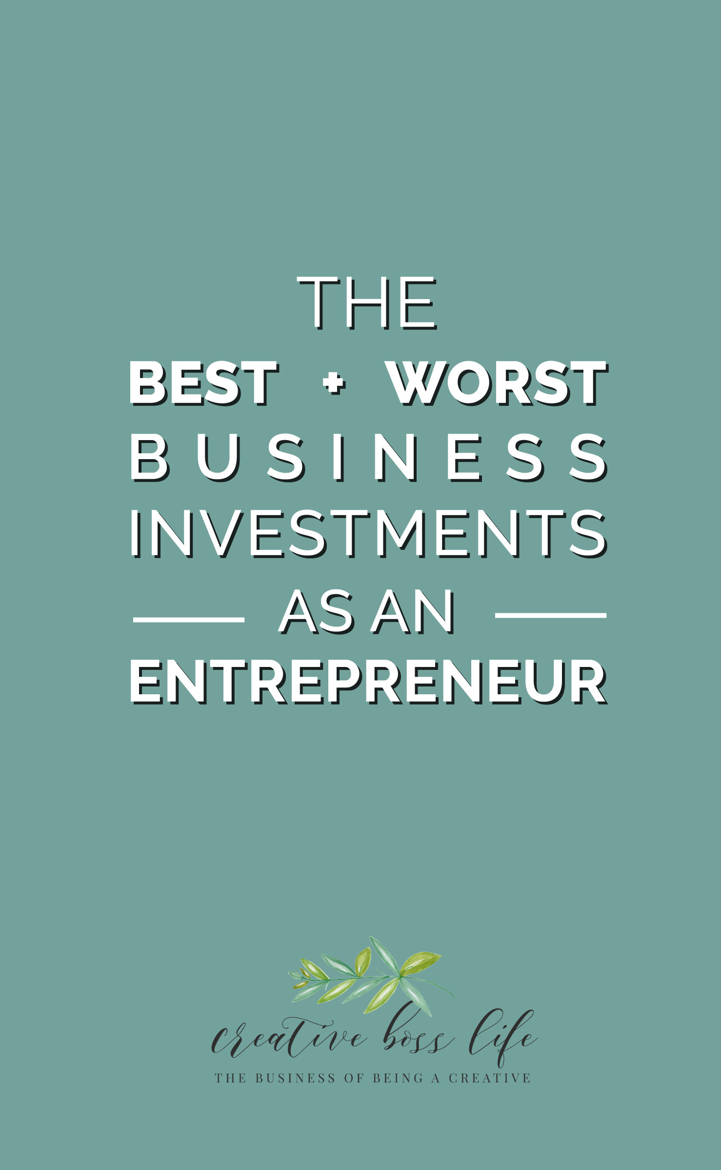 Grab your dark roast and join us as Lauren lays it all out on the table with her top best AND worst business investments she has made to date. From masterminds and mentors to courses and workshops, it is about to get all kinds of vulnerable up in here so that you don't have to!