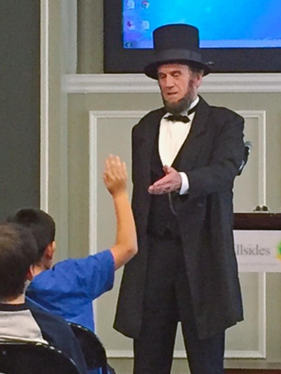 Hillsides Assembly honoring Abraham Lincoln - JP Wammack