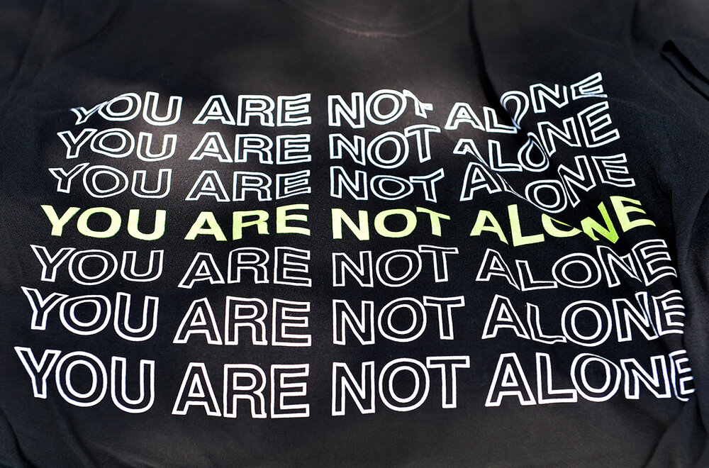 Didi Hirsch Teen Summit - You Are Not Alone T-shirt