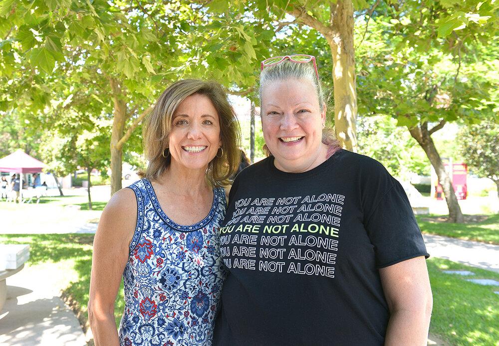 Teresa Nall and Heather Sardella at Didi Hirsch Teen Summit