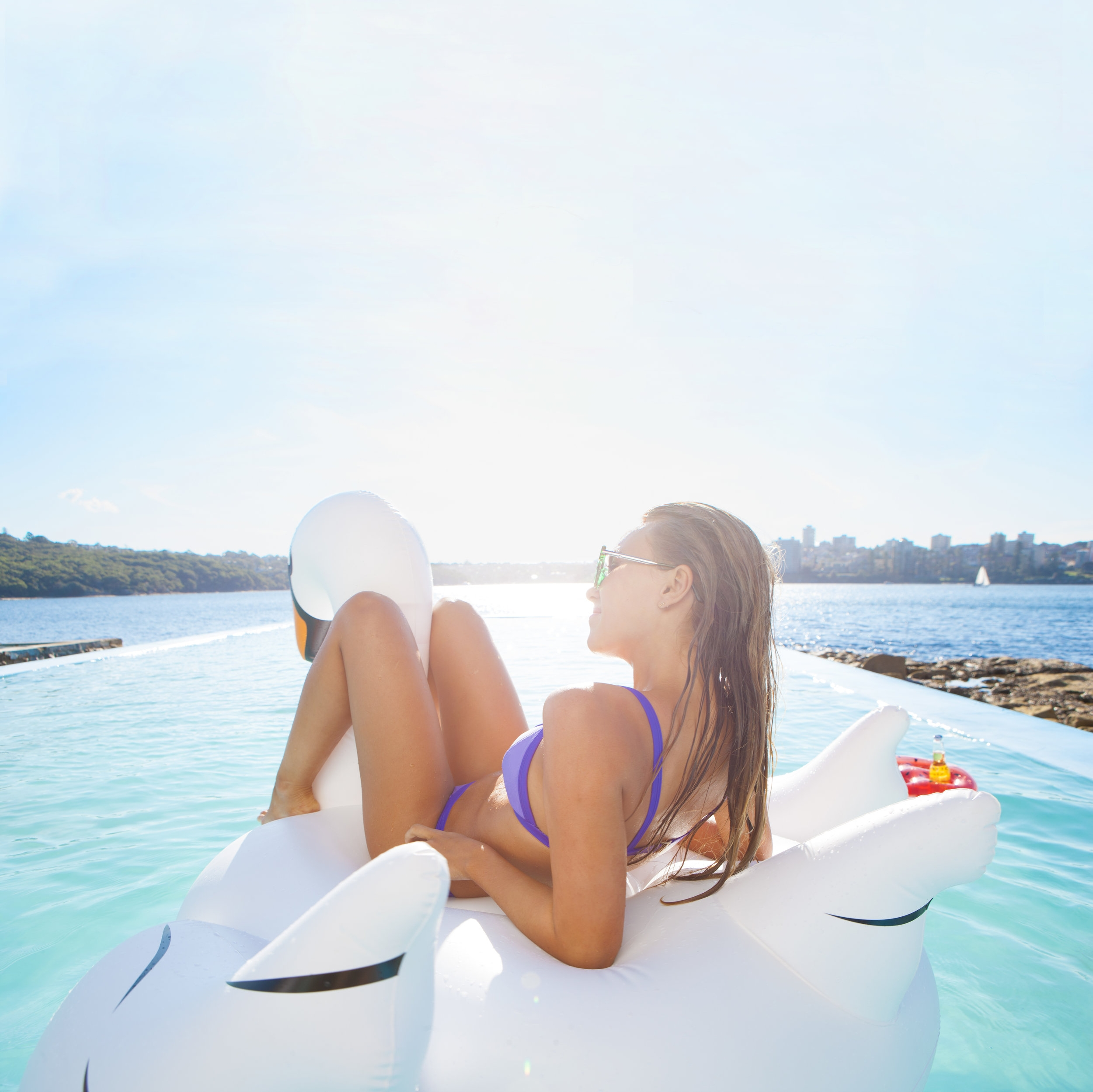 Giant Luxe Swans, Pineapples, and more...   Can you really consider it a party if you don't have a giant rose gold swan or a luxe pineapple float? Hit the pool or beach in style with one of our many  must have inflatables .