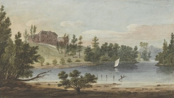 The Female Orphan School around 1825, by Augustus Earle (National Library of Australia nla.pic-an2818336)