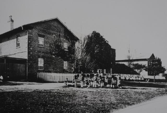 The Protestant Orphan School in 1870 (State Library of New South Wales d1_06132)