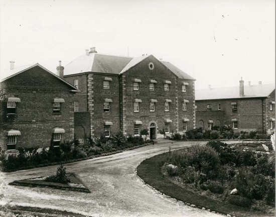 Rydalmere Psychiatric Hospital, around 1890. (State Records NSW, NRS 5598)
