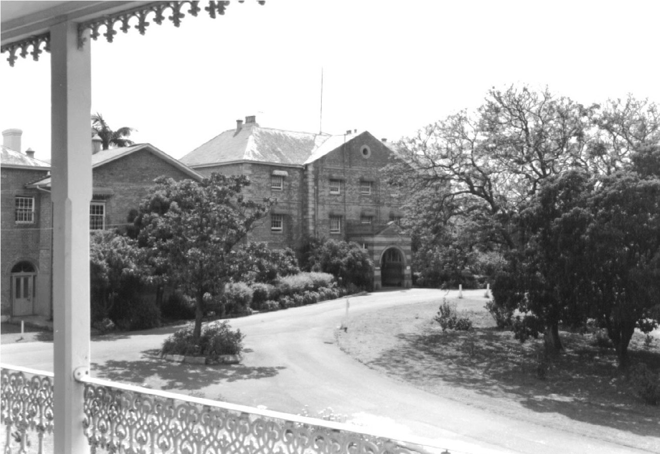 The Rydalmere Psychiatric Hospital in 1969. (State Library of New South Wales, Government Printing Office 2 – 45580)