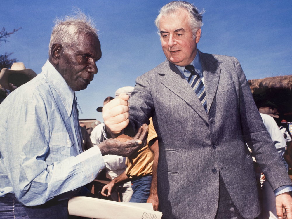 Aboriginal & Torres Strait Islander Peoples - Gough Whitlam's 1972 election campaign speech was clear on the need to accord Aboriginal and Torres Strait Islander peoples the rights, justice and opportunities that had been denied to them for so long.