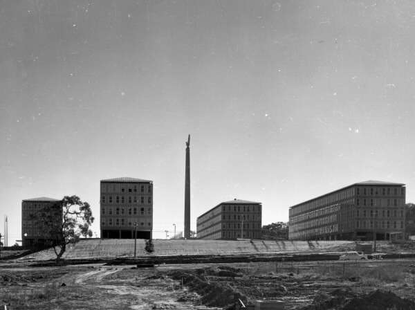 Defence offices in Canberra in the 1970s