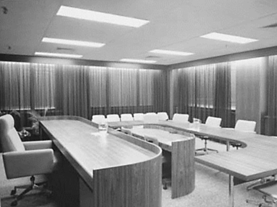 A courtroom in the new Family Court of Australia
