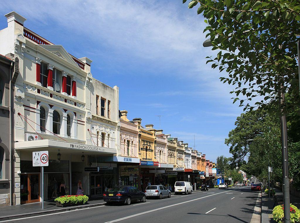 Glebe Point Road 2010