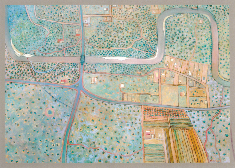 Map of Nostalgia, Oil - Kevin Oxley