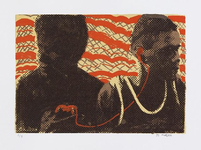 Djuwakan#2 Marika, Mari, photographic screenprint, 2012, 21x30cm