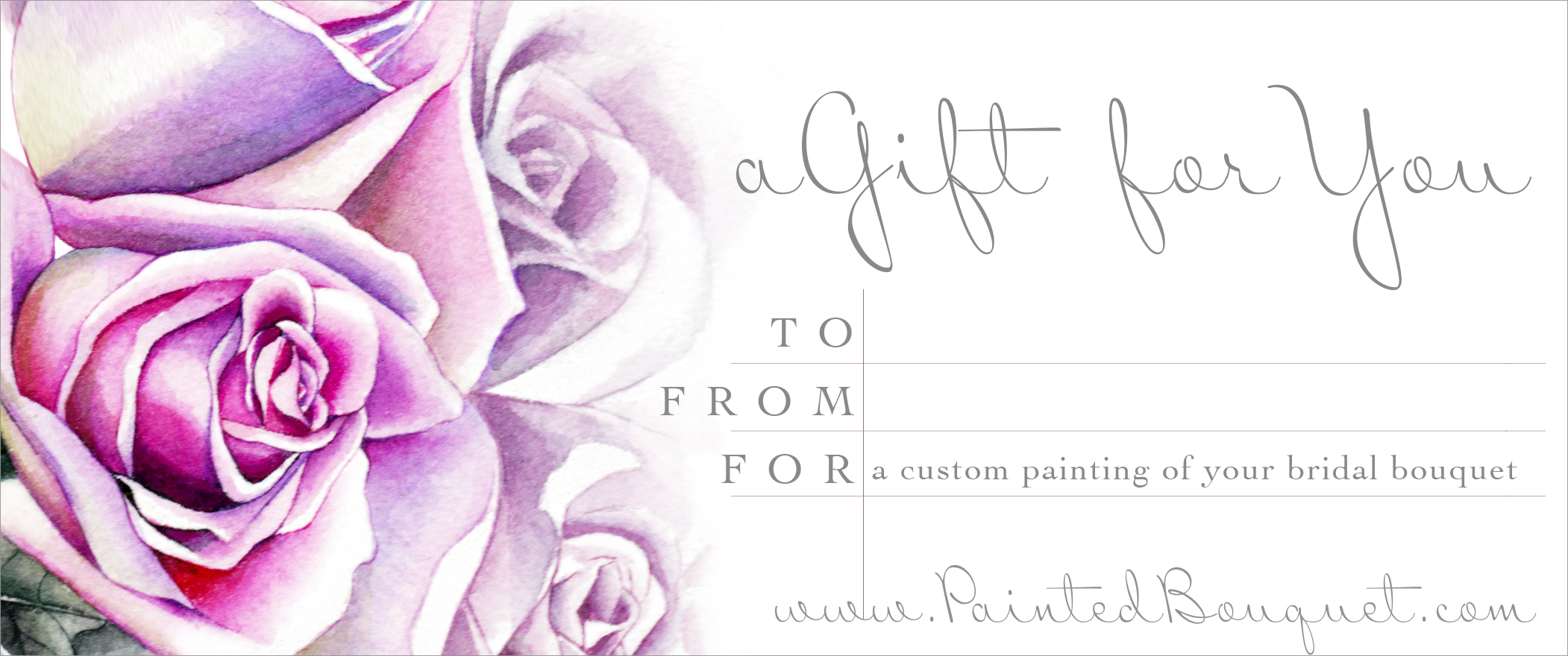 Gift Certificates are a great option to gift on your loved one's special day!