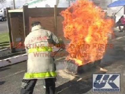 Fighting Shipboard Fires