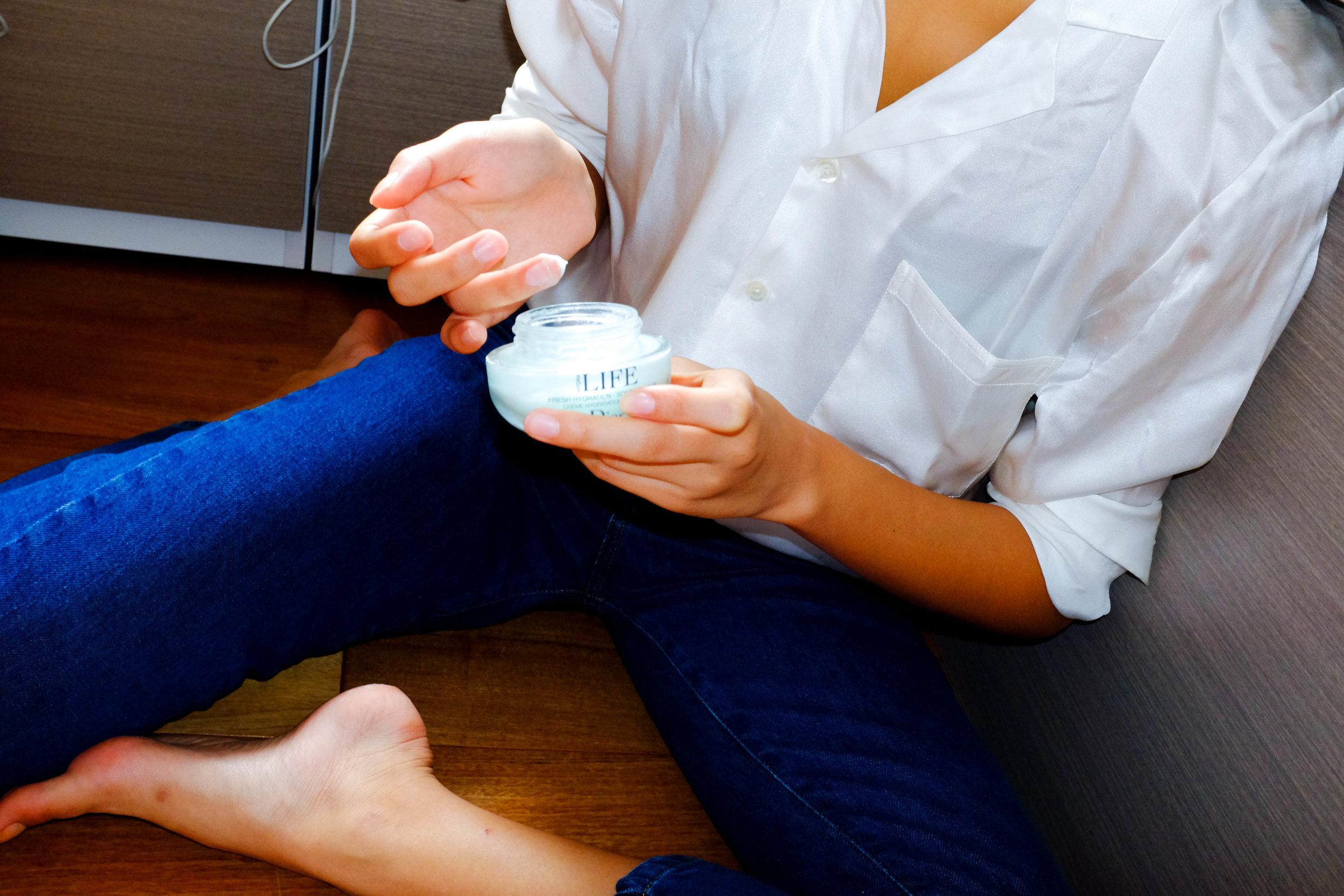 Zaneta Cheng Skincare Routine Moisturiser
