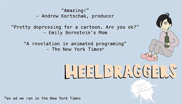 The INCREDIBLE reviews of Heeldraggers are in! So you should probably stream the entire series right now 😘 (Link in bio).