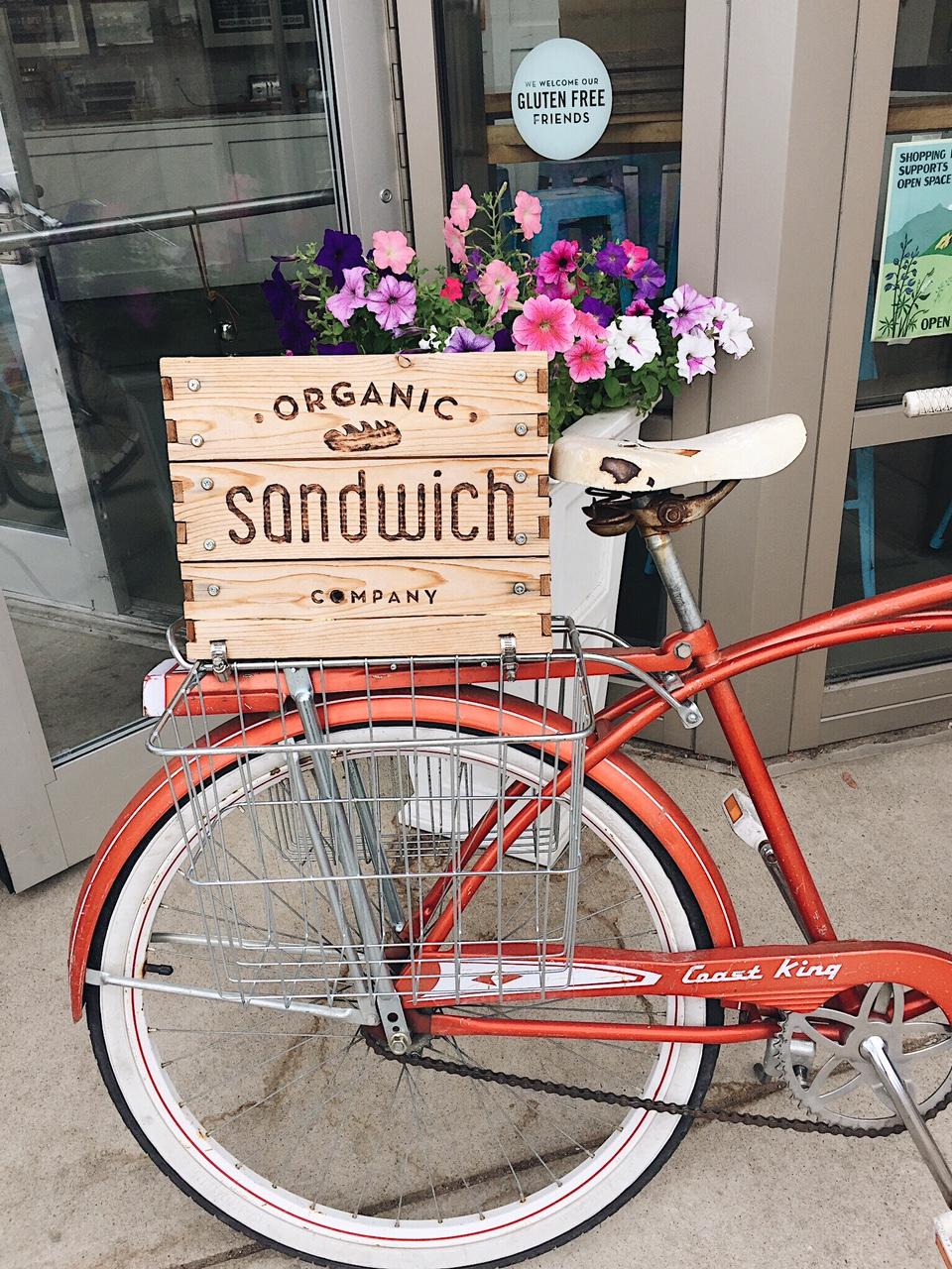 Organic Sanwich Company in Boulder.